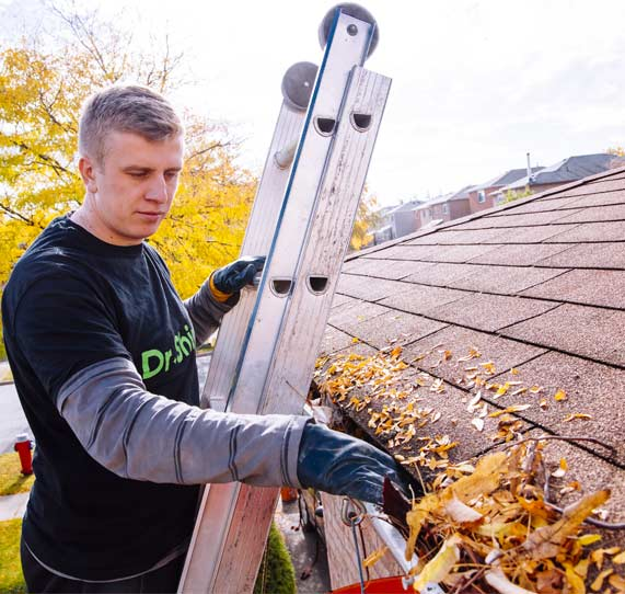 Gutter cleaning Mississauga