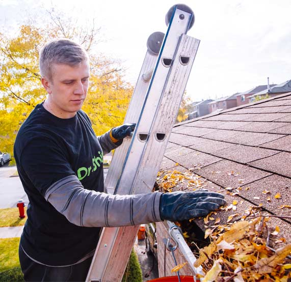 Gutter cleaning Thornhill